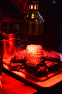 """Patrons described the succulent ribs as, """"perfectly smoked"""". (Anthony C. Hayes)"""
