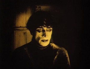 An image from The Cabinet of Dr. Caligari.