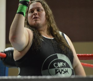 EWA heavyweight wrestler Cory Bush. (Anthony C. Hayes)