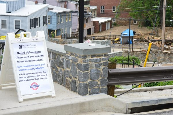 Relef Workers informational sign in Ellicott City, Maryland (Anthony C. Hayes/BPE)
