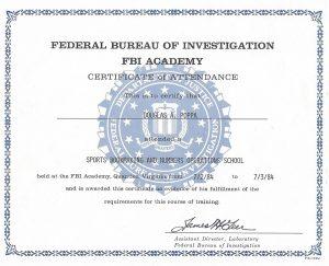 FBI Academy, Quantico, Virginia