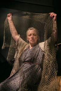 Nanna Ingvarsson as the Chronicler's wife in Falling Out Of Time. (C. Stanley Photography `