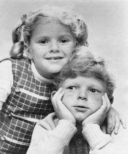 Anissa Jones and Johnny Whitaker portrayed orphaned twins Buffy and Jodie on Family Affair.