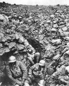 World War I French 87th Regiment Cote 34 Verdun 1916. (Wikimedia)