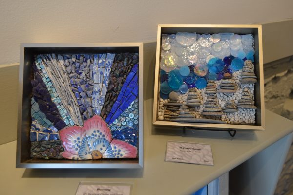 Mosaic art by Gail Rosen of Andamento Gallery in Baltimore, Md. credit Anthony C. Hayes