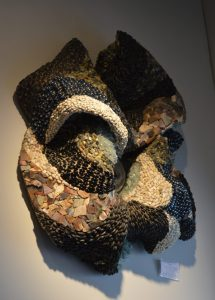 Gail Rosen of Andamento gallery in Baltimore said 'The materials used today in mosaic art range widely.' (Anthony C. Hayes)