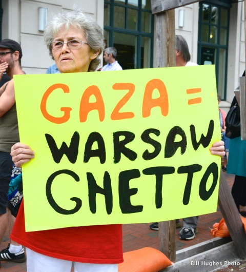 Gaza Warsaw Ghetto