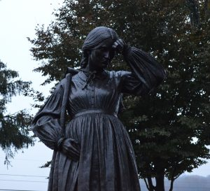 The Women's Memorial near the Evergreen Cemetery Gatehouse in Gettysburg. Credit Anthony C. Hayes).