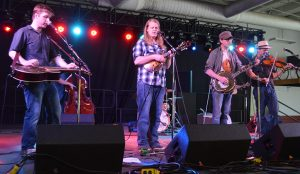 Maryland's own Grand Ole' Ditch, released its new album Unwind Friday at the Music Hall Stage.