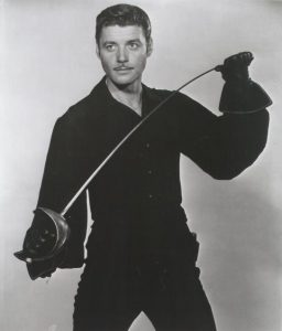 Lost in Space star Guy Williams in a publicity picture as Zorro.