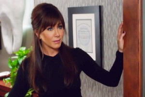 She's back! America's favorite sexpot dentist Julia Harris (Jennifer Aniston) is sluttier than ever in Horrible Bosses 2. (Courtesy of Warner Bros.)