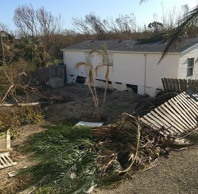 Hurricane Irma National Key Deer Refuge bunkhouse maintenance facilities have significant damage Photo by USFWS
