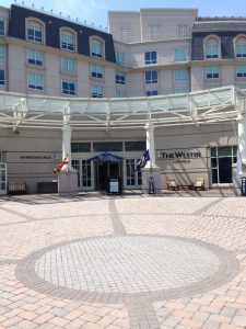 Azure is located inside the  Westin Hotel in Annapolis