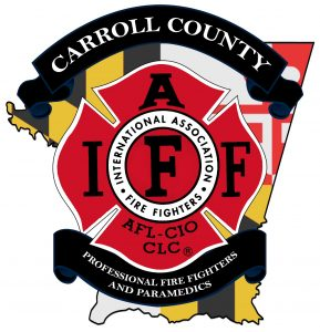 A group of Carroll County Maryland fire fighters has voted to form a local IAFF Union.  Shown here is the proposed logo