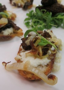 Moral Crostini by Chef Therese Harding.