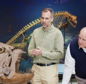 Is Genesis History: Paleontologist Marcus Ross and Dr. Del Tackett.