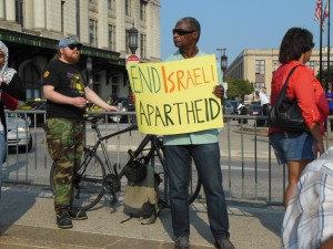 Comparing the conflict in Gaza to South Africa. (Anthony C. Hayes)