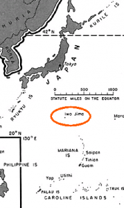 Iwo Jima was a strategic base because of its close proximity to Japan.