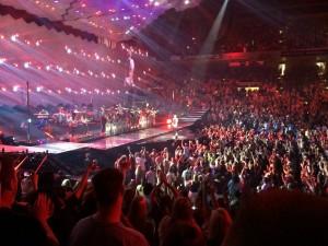 JT rocking the Baltimore Arena.