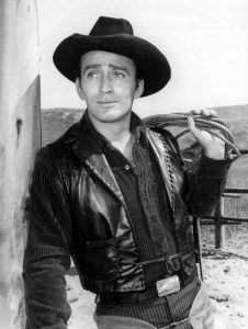 James Drury as The Virginian. (Wikimedia)