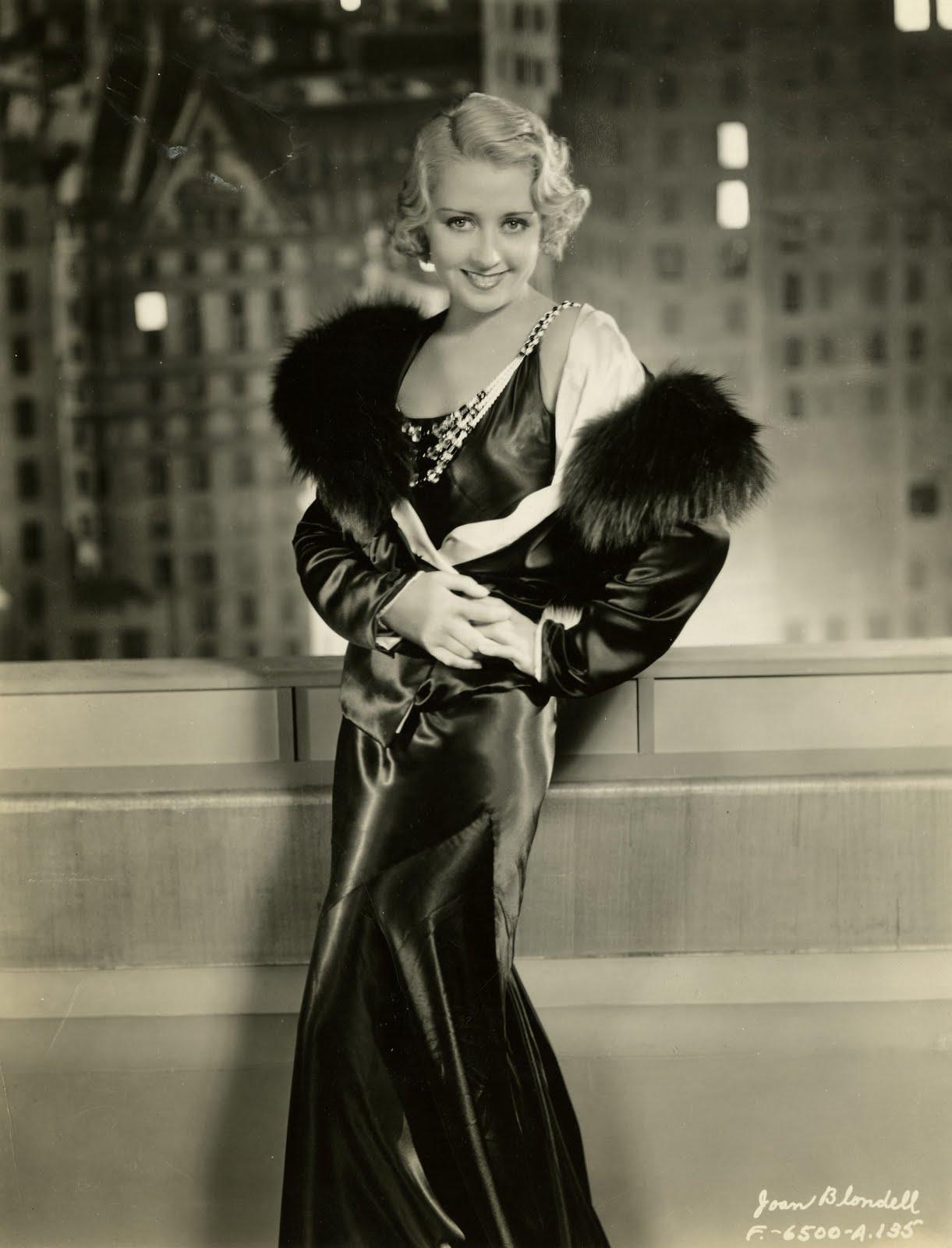 iconos de estilo de los años 30 y 40 joan blondell