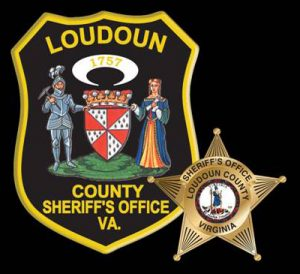LCSO patch and badge