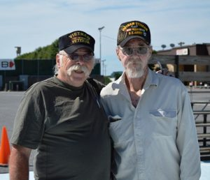 Vietnam veterans Wayne and William Talbott. (Anthony C. Hayes)