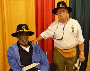Vietnam veterans Elliott Phillips and Dan P. Brodt.