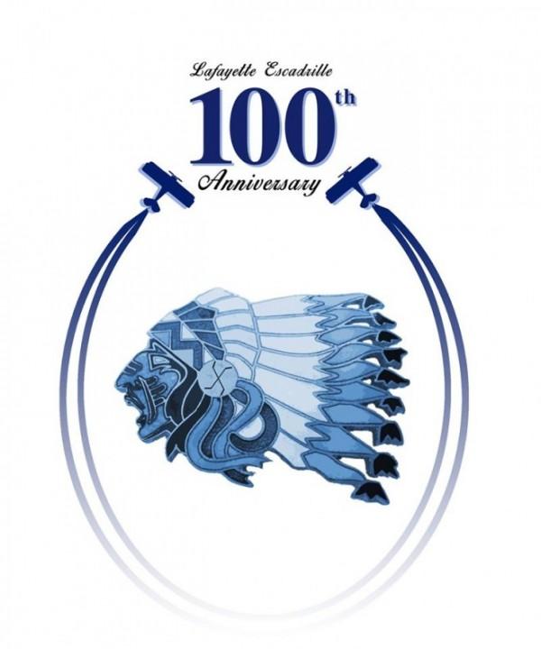Lafayette Escadrille 100 logo