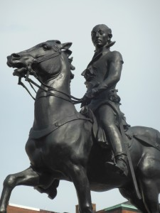 Lafayette monument in Baltimore. (Anthony C. Hayes)
