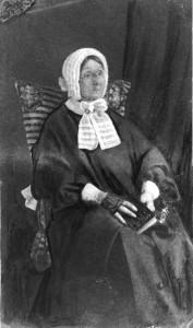 Laura Secord in 1865.  (Wikimedia)