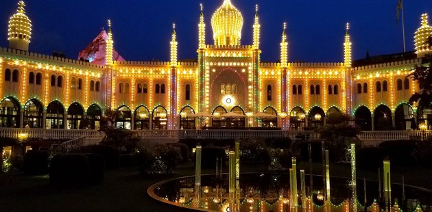 Tivoli Gardens in Copenhagen. (credit Leonard Kinsey)