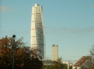 Searching for Swedish Fish The Turning Torso in Malmo, Sweden. (Leonard Kinsey)