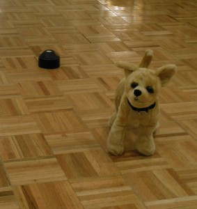A static sensing Dome and an electrically modified toy dog are both used to detect paranormal activity. (Anthony C. Hayes)