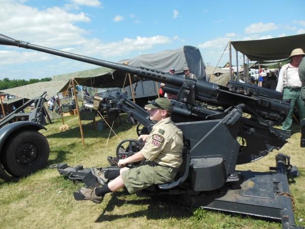 A German 37mm anti-aircraft gun (Anthony C. Hayes)
