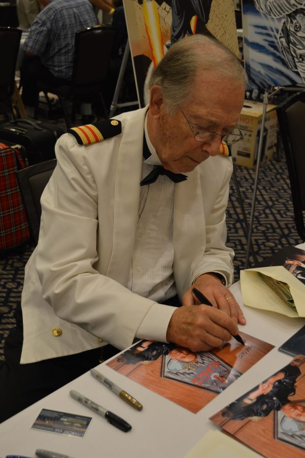 Bernie Kopell at Mid-Atlantic Nostalgia Convention 2016 credit Anthony C. Hayes
