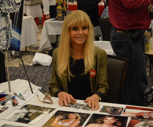 Britt Ekland at the Mid-Atlantic Nostalgia Convention 2016 credit Anthony C. Hayes