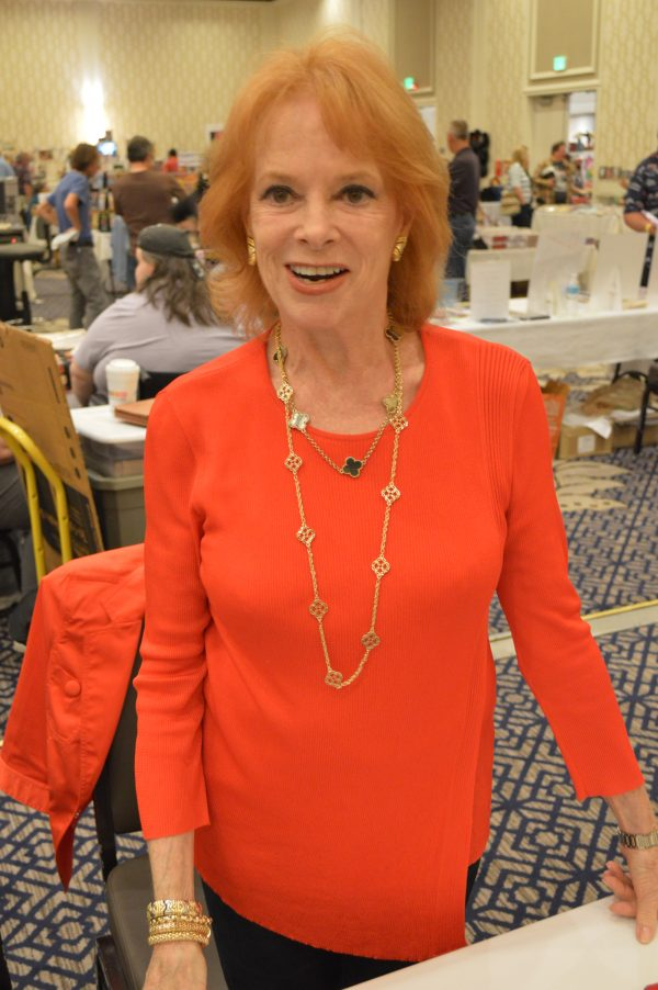 Luciana Paluzzi at the Mid-Atlantic Nostalgia Convention 2016 (Anthony C. Hayes)