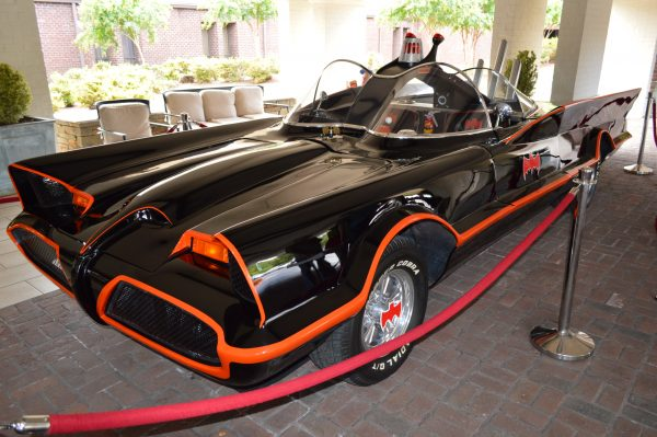 Mid-Atlantic Nostalgia Convention 2016 Batmobile credit Anthony C. Hayes