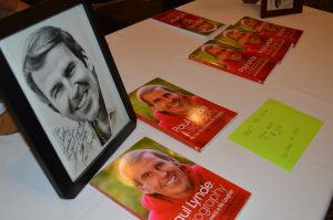 Paul Lynde biographer Cathy Ruduloph's table at the 2017 Mid-Atlantic Nostalgia Convention. credit Anthony C. Hayes