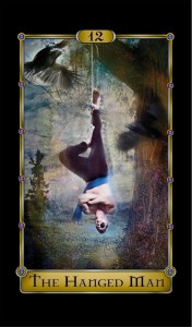 Martial arts master Harry McKenzie as The Hanged Man.