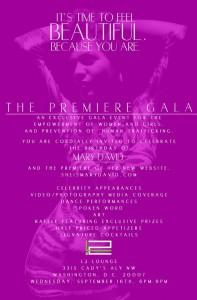 Mary David gala poster