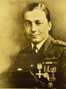 WWI ace Francis Warrington Gillet. (Anthony C. Hayes)