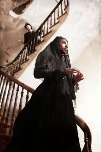 Shannon Graham portrays the spiritual Sarah. (Glenn Ricci)