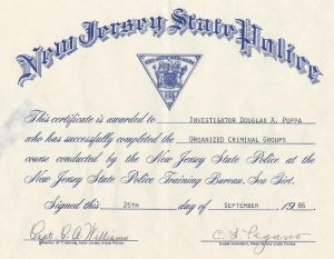 NJ State Police, Institute on Organized Criminal Groups