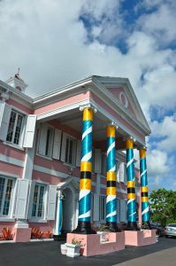 The Bahamas - Nassau building - credit Davida G. Breier