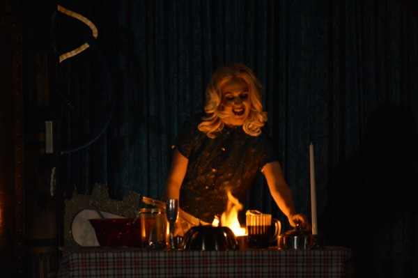 Maranda Lookinglass is cooking with gas now. (Anthony C. Hayes)