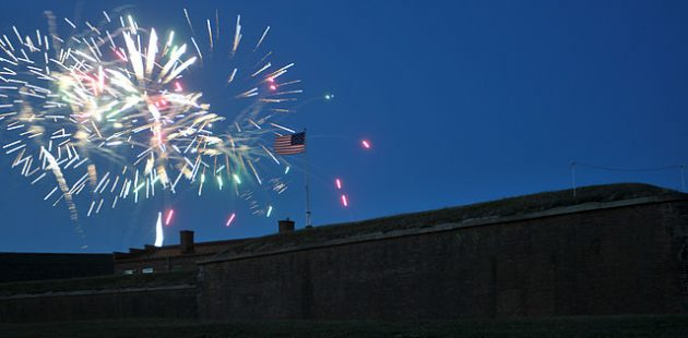 Fireworks ov Ft. McHenry Official U.S. Navy photograph