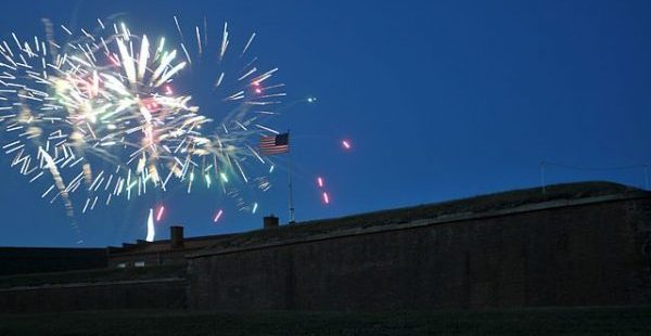 Fireworks ov Ft. McHenry Official U.S. Navy photograph