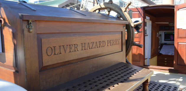 The Oliver Hazard Perry paid a visit to Baltimore in March 2018. credit Anthony C. Hayes